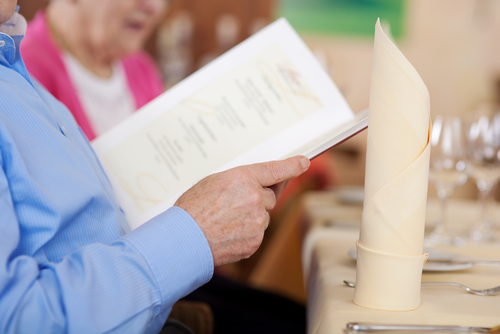 Short menus help customers order more quickly