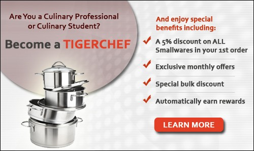Become a Tigerchef - Open a Restaurant Supply Account