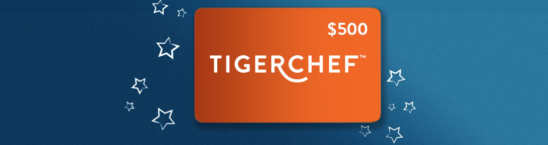 Win a $500 gift card to TigerChef!