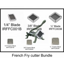 Thunder Group TC-IRFFC00-Bundle French Fry Cutter Bundle, Cutter Machine & 1/4