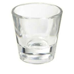 GET SW-1409 (SW1409) 1.5 oz. SAN Plastic Shot Glass 24/CS