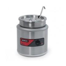 Nemco 6100A Countertop Round Warmer 7 Qt.