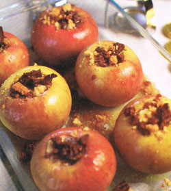sauce pecan stuffed apples with caramel sauce recipes dishmaps pecan ...