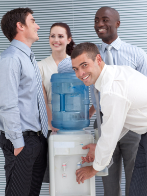 Water Coolers: Productivity Enhancers or Destroyers?