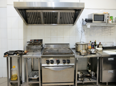 Small Commercial Kitchen Hood
