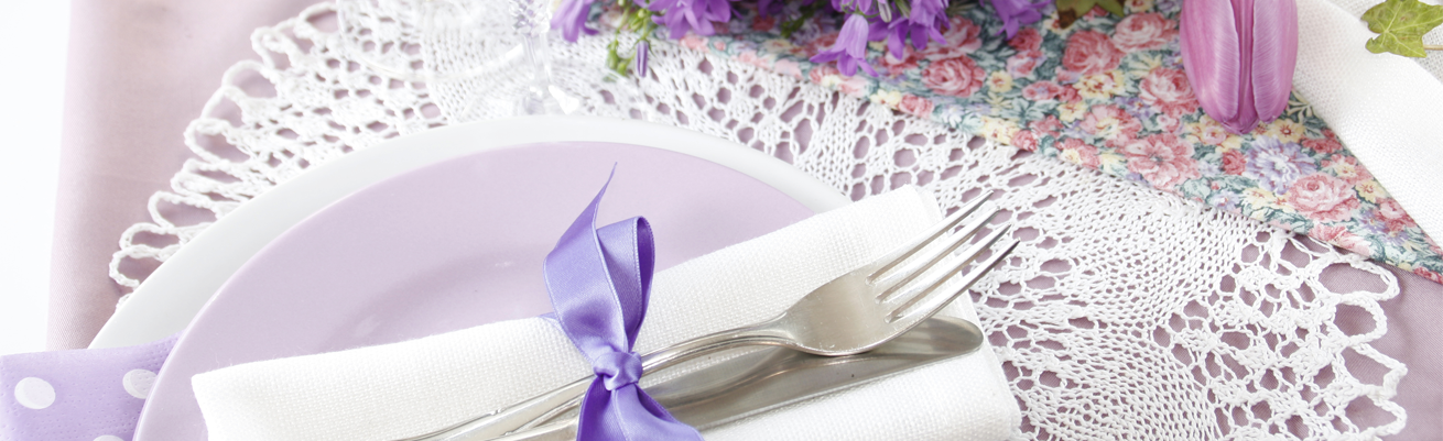 Floral accents and calm music can create an elegant restaurant ambience for Mother's Day.