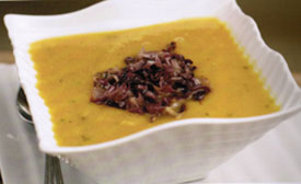 Buttnernut and Acorn Squash Soup